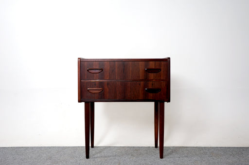 Danish Mid Century Rosewood Bedside Table - (317-096)