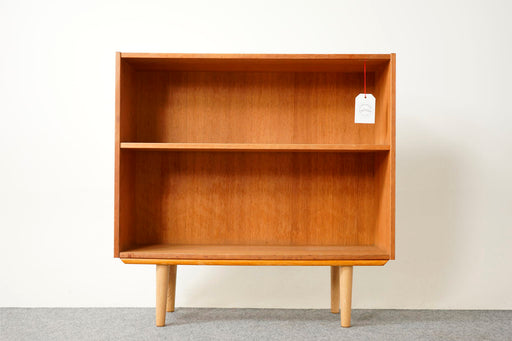 Vintage Scandinavian Oak Bookcase - (316-164)