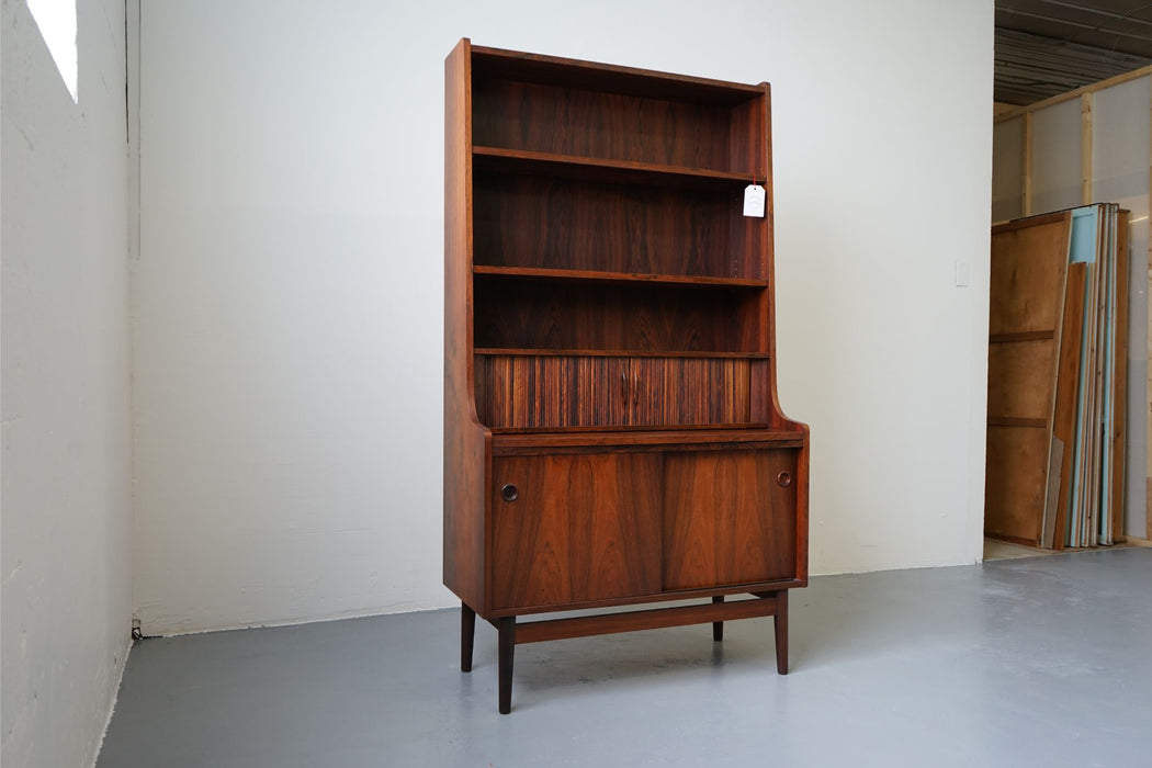 Johannes Sorth Danish Mid Century Rosewood Bookcase For Nexo - (D522)