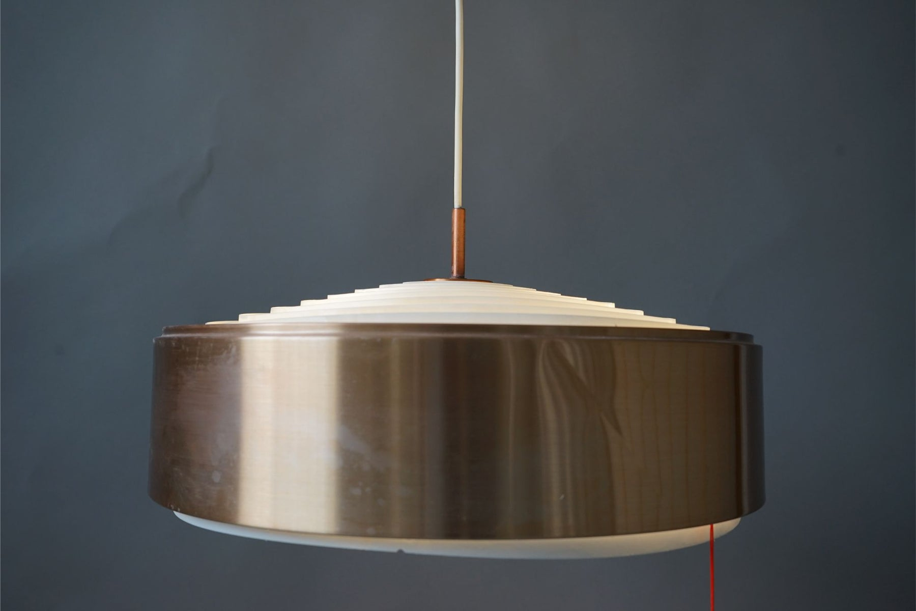 Danish Mid Century Metal Ceiling Light- (314-061.7)