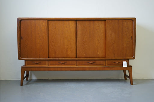 A Danish Mid Century Sideboard Made With Teak - (313-014)
