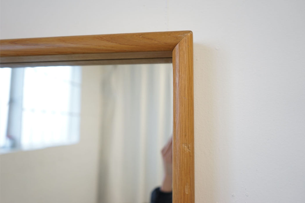 Danish Mirror Made With Oak By Aksel Kjaergaard - (314-028.3)