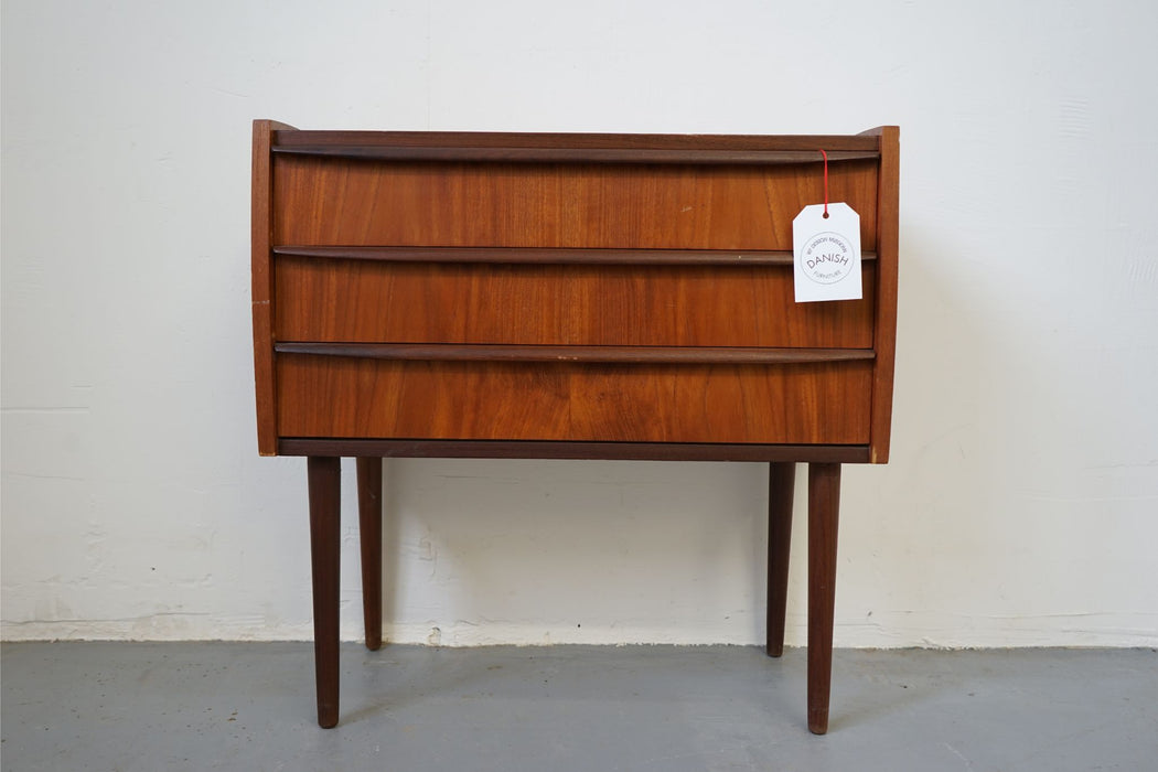 Danish Modern Bedside Table Made With Teak - (315-024.2)