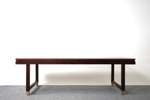 Danish Modern Rosewood Coffee Table - (318-041)