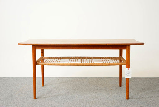 Danish Modern Teak Coffee Table  - (316-083)