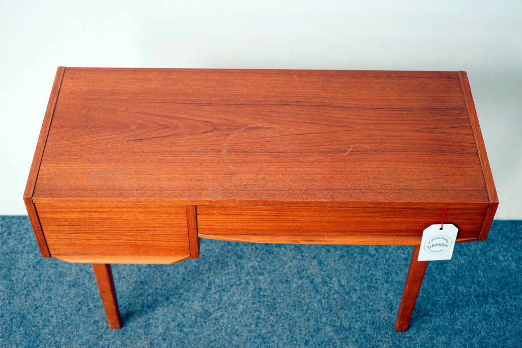 Danish Modern Teak Console Table - (316-012.2)