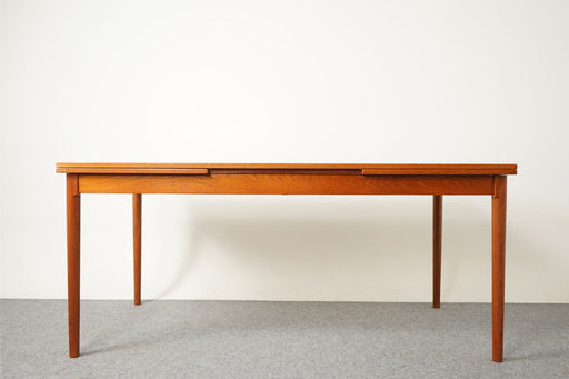 Danish Teak Dining Table By Kaj Windig - (316-001)