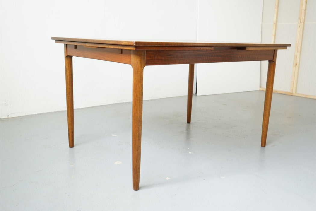 Danish Modern Dining Table Made With Walnut - (314-134)