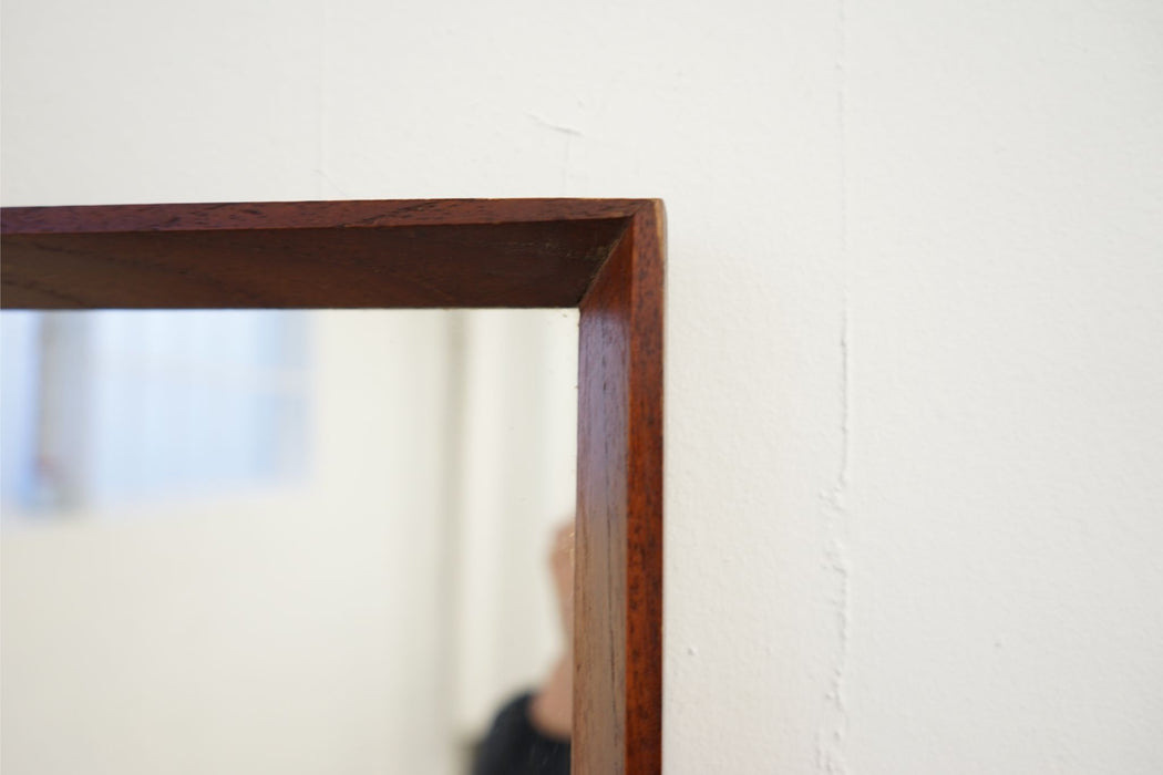 Danish Modern Mirror Made With Teak - (314-050.9)