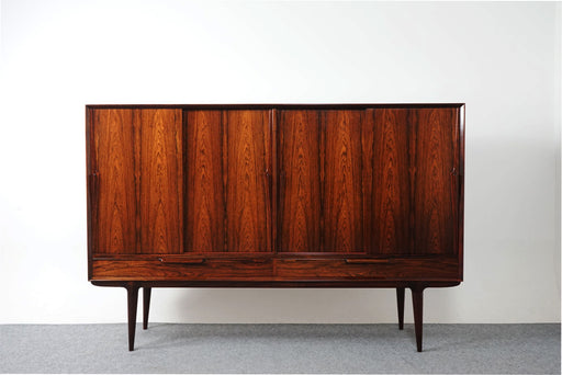 "Danish Modern ""Model 13"" Rosewood Sideboard By Omann Jun - (318-118)"