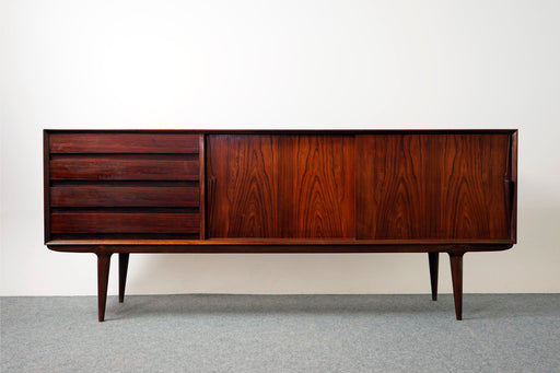 "Danish Modern Rosewood ""Model 18"" Sideboard For Omann Jun - (316-063)"