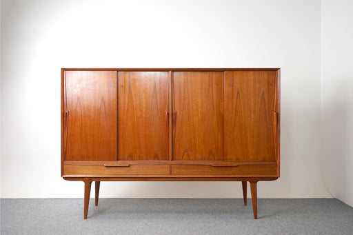 "Mid-Century Omann Jun Teak Sideboard ""Model Nr.13"" - (318-125)"