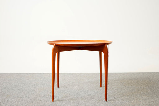 Danish Modern Teak Side Table By Sven Williamson & Hans Engholm - (D697)