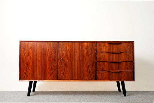 Danish Modern Rosewood Sideboard by Erling Torvits- (317-046)