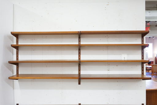 Danish Modern Wall System Made With Teak By Kai Kristiansen - (315-018.1)