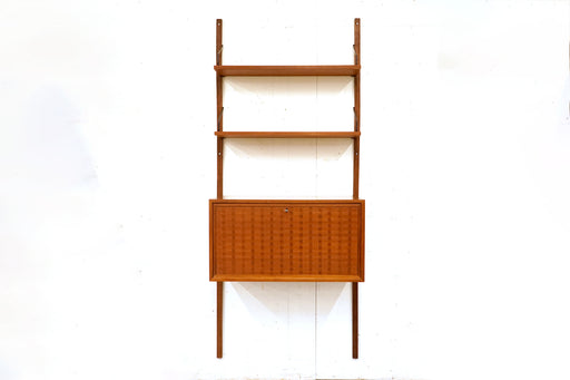 Danish Teak Wall System By Poul Cadovius - (316-139.2)