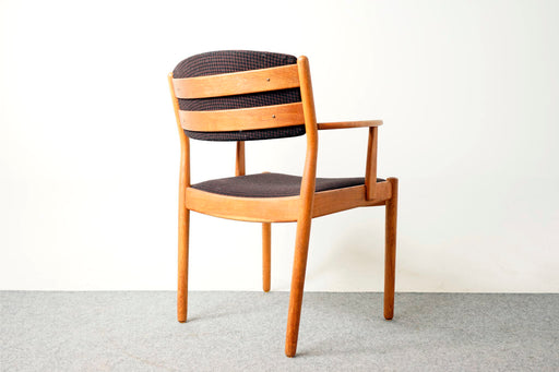 Mid Century Arm Chair Made With Oak by Poul Volther - (317-020.2)