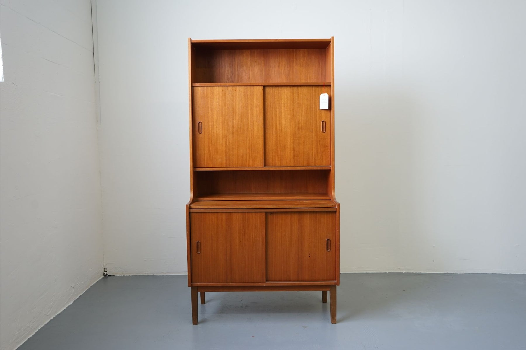 A Mid-Century Bookcase Made With Teak - (D408)