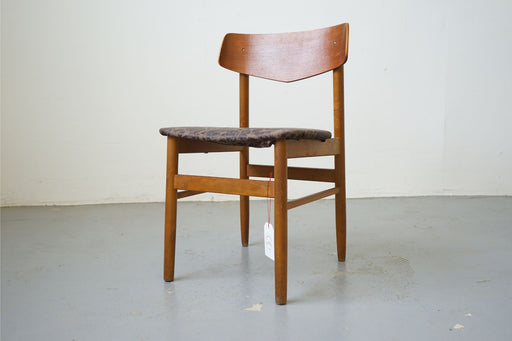 Mid Century Chair Made With Teak & Beech - (315-011.5)