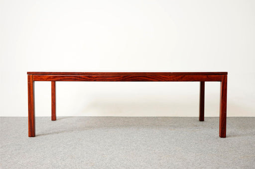 Mid-Century Rosewood Coffee Table - (D711)