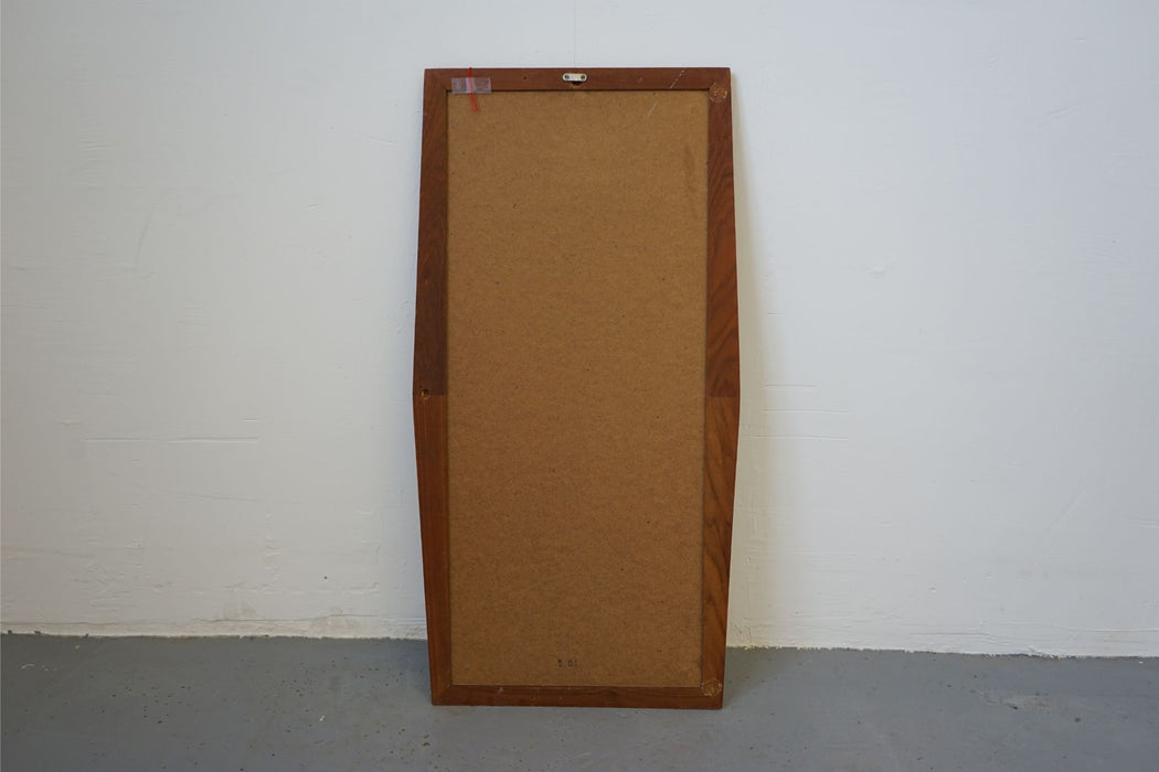 Mid Century Mirror Made With Teak - (314-097.3)