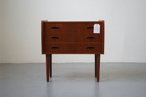 A single Mid-Century Modern Bedside Made With Teak - (312-145)