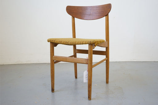 Mid-Century Modern Chair Made With Teak - (315-014.8)