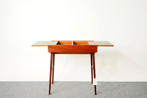 Mid-Century Modern Teaking Sewing Table - (316-141)