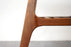 Mid-Century Modern Walnut Side Table with Handles- (D748)