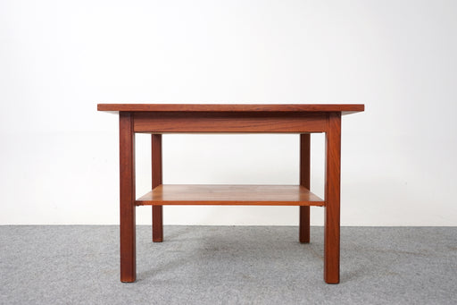 Mid Century Teak Side Table with Drawer - (D767)