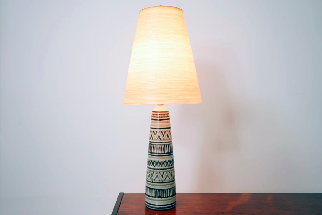 Mid Century Table Ceramic Lamp For Lotte - (D685)