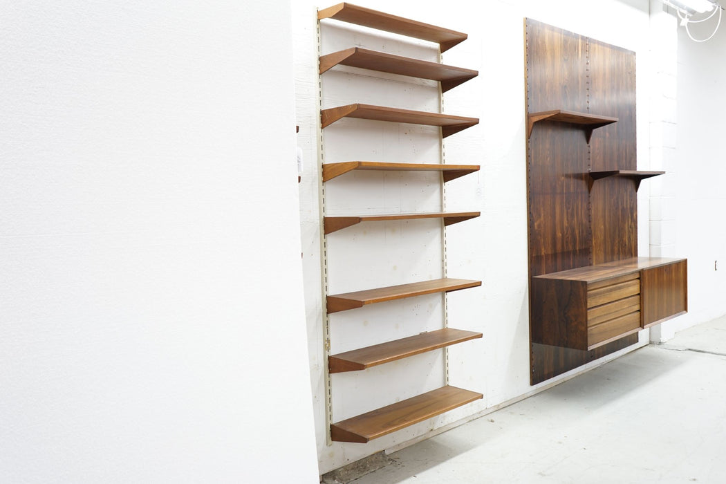 Mid Century Wall System Made With Teak - (314-084.3)