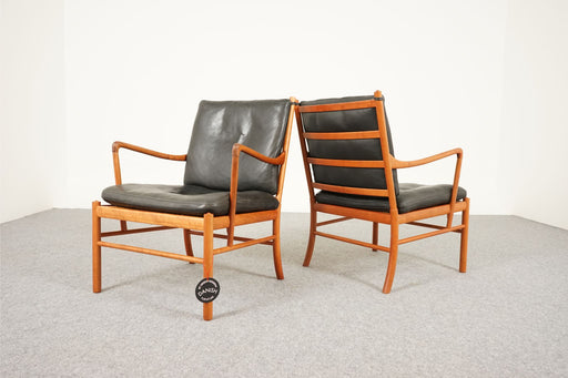 "Pair of ""Colonial"" Arm Chairs By Ole Wanscher For P Jeppesen - (316-047)"