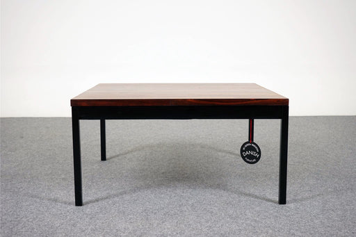 SALE - Solid Rosewood & Metal Side Table - (D545)