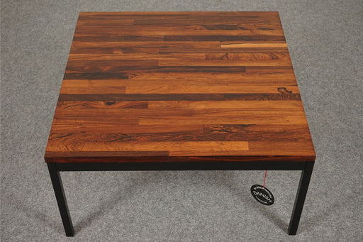 Scan Modern Side Table Made With Rosewood & Metal - (D545)