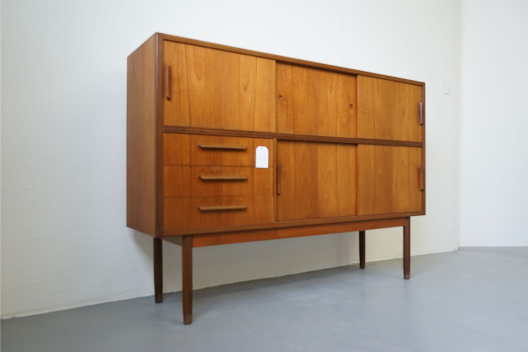 A Scan Modern Sideboard Made With Teak - (312-171)