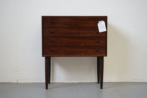 Scandinavian Rosewood Bedside Table - (315-021)
