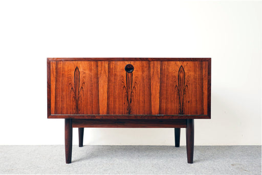 Scandinavian Rosewood Dropdown Cabinet - (318-031)