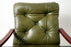 Scandinavian Leather Lounge Chair - (318-160)