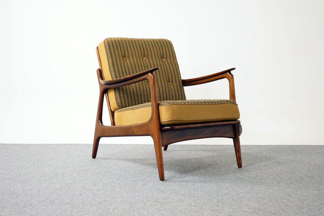 Scandinavian Beech Wood Lounge Chair - (316-026)