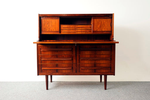 Rosewood Secretary Desk by Sigfred Omann for Orum Mobelfabrik - (317-062)