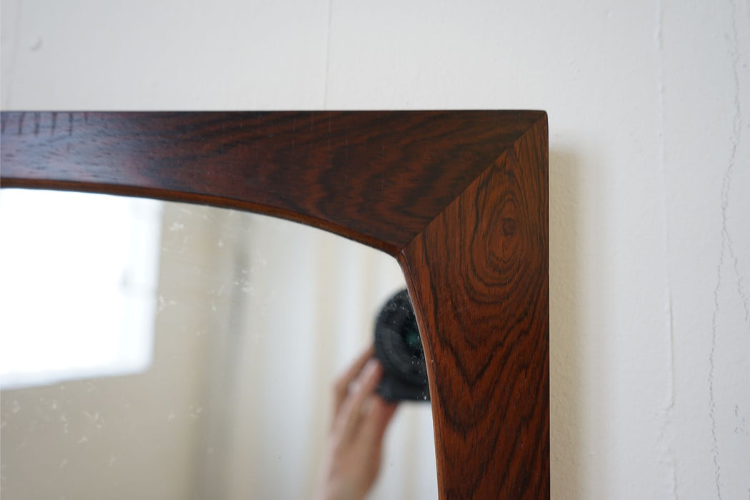 Vintage Design Mirror Made With Rosewood - (314-050.2)
