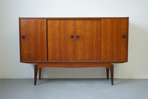 A Vintage Design Sideboard Made With Teak - (313-057)