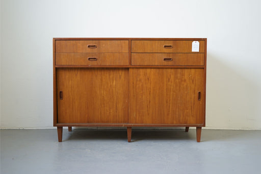 A Vintage Design Sideboard Made With Teak - (D497)