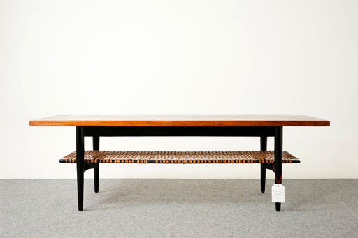 Vintage Modern Rosewood Coffee Table - (316-140)