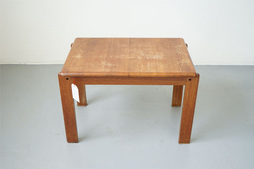 A single Vintage Modern Side Table Made With Solid Teak - (D492)
