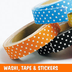 Washi Tape & Stickers
