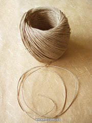 Natural Hemp Twine Cord, 10 lb strength Thin Cord - 400 ft roll