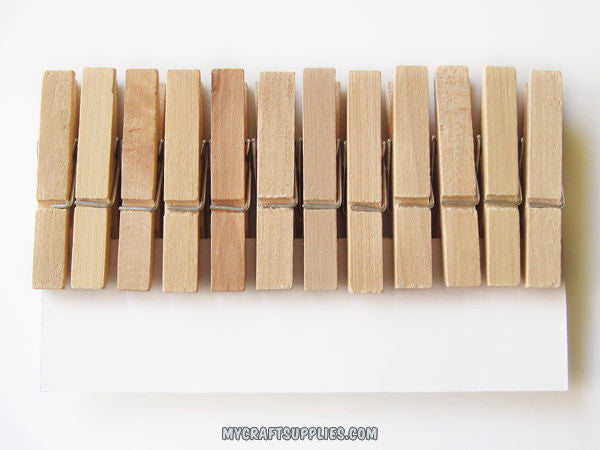 1 3/4 Inch Miniature ClothesPins (Set of 48)