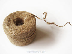 225 Ft Roll of Natural Jute Twine